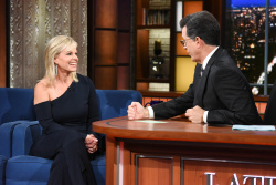Gretchen Carlson - The Late Show with Stephen Colbert: October 25th 2017