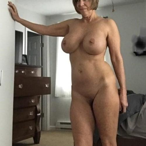 Full frontal nude selfie