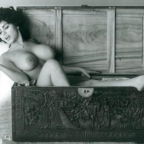Huge natural vintage tits