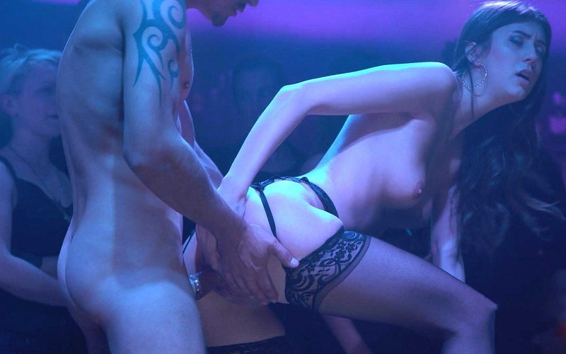 Lina Luxa - Sexo, Gives Head and Fucks on Stage [FullHD 1080P]