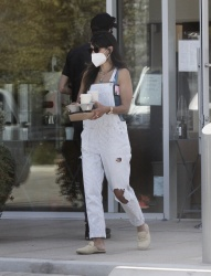 Jordana Brewster - Out at Blue Bottle Coffee in Malibu 07/10/2020