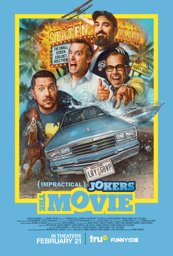 Impractical Jokers The Movie 2020 HDRip XviD AC3-EVO