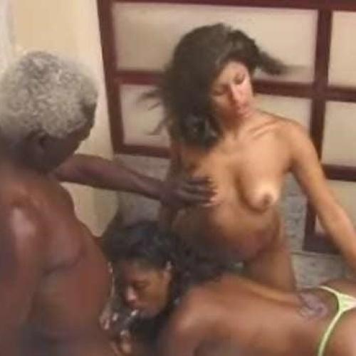 Nude black grandpa