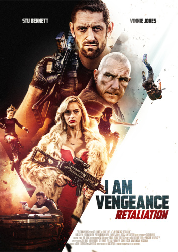 I Am Vengeance Retaliation 2020 720p HDRip Hindi Dub Dual-Audio x264-1XBET
