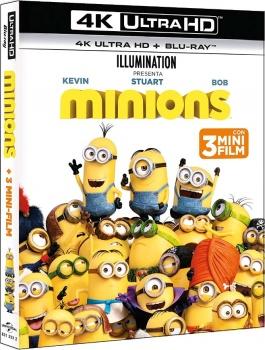 Minions (2015) Full Blu-Ray 4K 2160p UHD HDR 10Bits HEVC ITA DD 5.1 ENG Atmos/TrueHD 7.1 MULTI