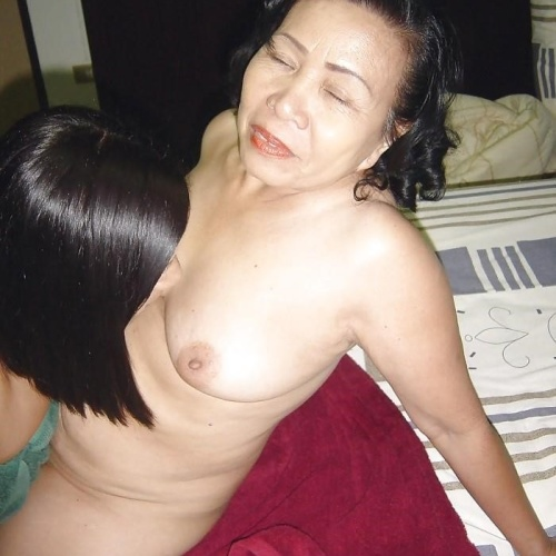 Mature asian granny pics