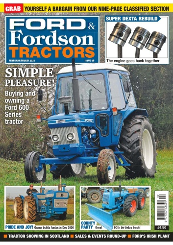 Ford & Fordson Tractors - Issue 95 - February-March (2020)