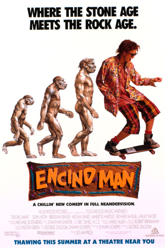 Encino Man (1992) 720p WEBRip x264 ESubs [Dual Audio][Hindi+English] -=!Dr STAR!=-