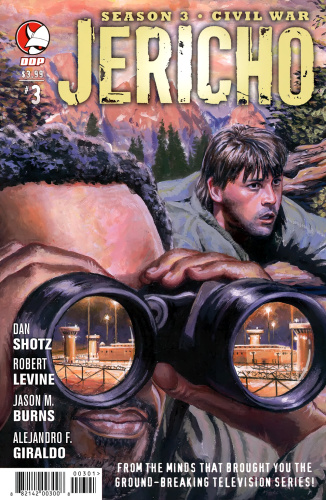 Jericho Season 3   Civil War 03 (of 06) (9) (two covers)  20