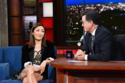 Constance Wu - The Late Show with Stephen Colbert: August 16th 2018