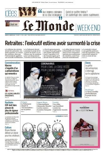 Le Monde - 25 01 (2020)