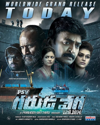PSV Garuda Vega (2017) UNCUT 720p HDRip x264 Esubs [Dual Audio][Hindi+Telugu]