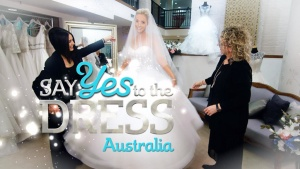 Say Yes to the Dress Australia S01E03 Unconventional Couple WEB x264-GIMINI