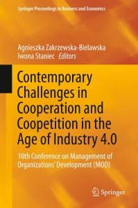 Contemporary Challenges in Cooperation and Coopetition in the Age of Industry 4 0