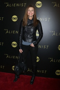 Paulina Porizkova -       ''The Alienist'' Premiere New York City January 16th 2018.