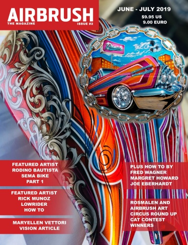 Airbrush The Magazine - Issue 2 - June-July (2019)