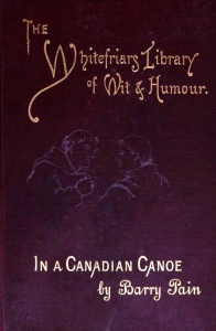 In a Canadian Canoe, The Nine Muses Minus One and Other Stories