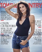 Cindy Crawford -          Town & Country Magazine May (2018).
