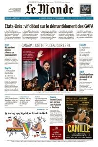 Le Monde - 23 10 (2019)