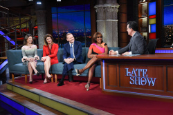 Bianna Golodryga, Norah O'Donnell & Gayle King - The Late Show with Stephen Colbert: Feb 5th 2019