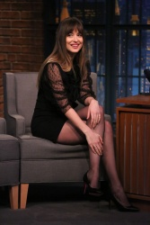 Dakota Johnson -       	''Late Night with Seth Meyers'' New York City January 31st 2018.