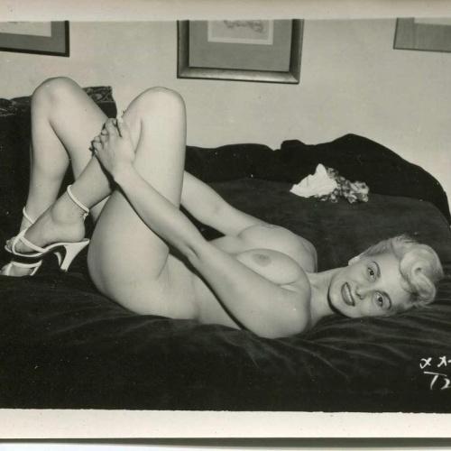 Erotic black and white nudes