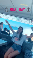 Victoria Justice and Madison Reed - Boat Day 25/5/2020