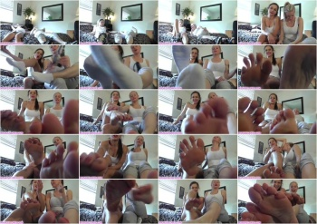 Mandy Flores - Mandy, Kira Make Foot Boys Dreams Cum True