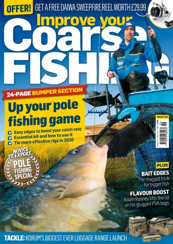 Improve Your Coarse Fishing - Issue 359 - January (2020)