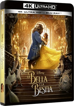 La bella e la bestia (2017) Full Blu-Ray 4K 2160p UHD HDR 10Bits HEVC ITA DD Plus 7.1 ENG TrueHD/Atmos 7.1 MULTI