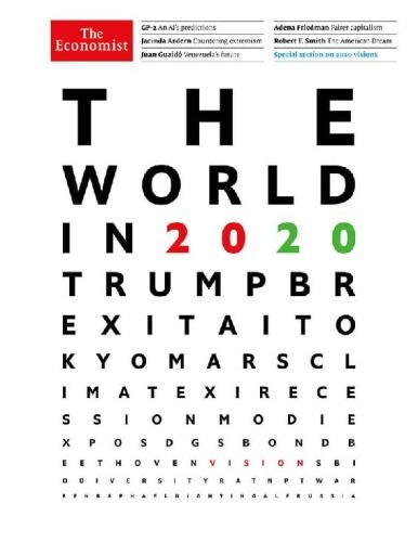 The Economist Magazine (2019)- The World in (2020)