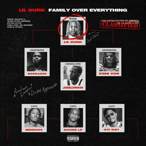 Lil Durk & Only The Family   Family Over Everything