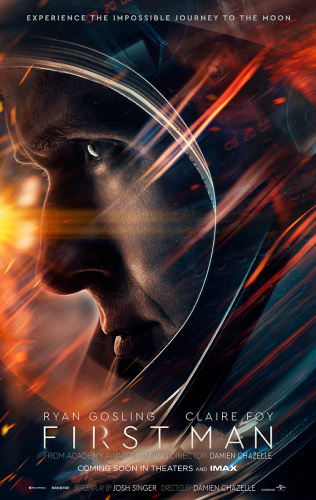 First Man (2018) IMAX 720p BluRay x264 [Dual Audio][Hindi+English] KMHD