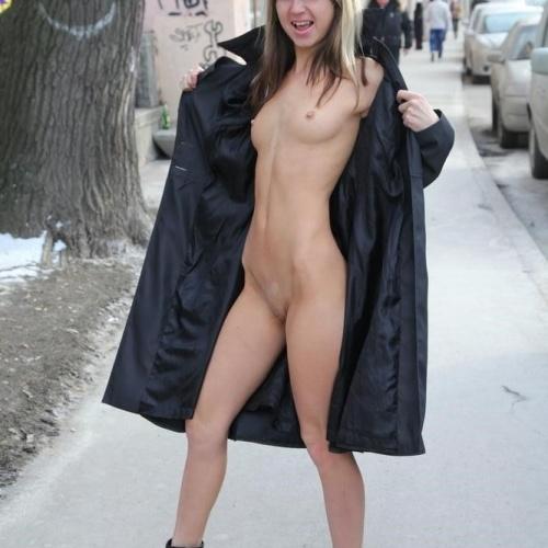 Sexy black coat