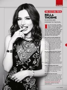 Bella Thorne -               Total Film Magazine April (2018).