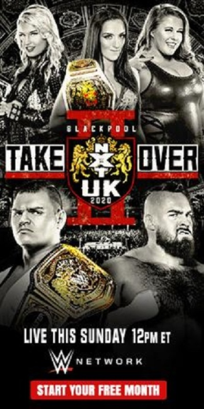 WWE NXT UK TakeOver Blackpool 2020 720p  h264-HEEL