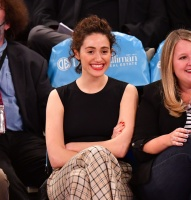 Emmy Rossum -             Madison Square Garden New York City April 10th 2019.