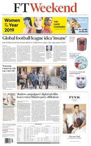 Financial Times UK - 07 12 (2019)