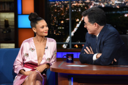 Thandie Newton - The Late Show with Stephen Colbert: June 15th 2018