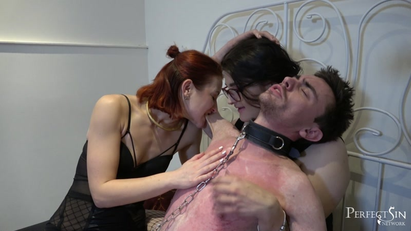 Miss Alexa and Miss Flora starring in video (Threesome Surprise) of (Perfect Sin) studio [FullHD 1080P]