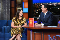 America Ferrera - The Late Show with Stephen Colbert: September 25th 2018