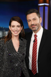 Anne Hathaway - Jimmy Kimmel Live: January 14th 2019