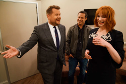 Christina Hendricks - The Late Late Show with James Corden: April 18th 2018