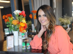 Jordana Brewster - Joins Zyrtec and Create & Cultivate at a panel to talk Allergy Face in NYC 3/28/18