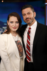 Katherine Langford - Jimmy Kimmel Live: June 12th 2018