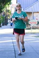 Kaley Cuoco - Leaving a Power Yoga class in Sherman Oaks 12/07/17