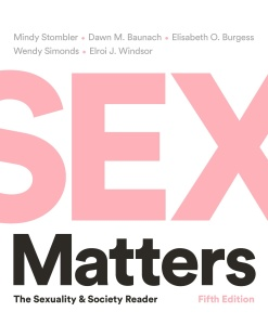 Sex Matters - The Sexuality and Society Reader, 5th Edition