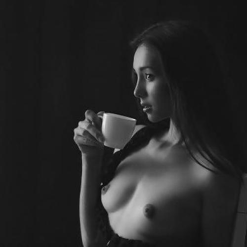 Naked women drinking pee