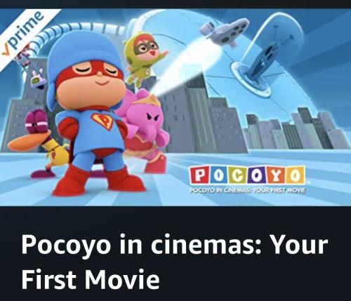 Pocoyo in Cinemas Your First Movie 2018 WEBRip XviD MP3-XVID