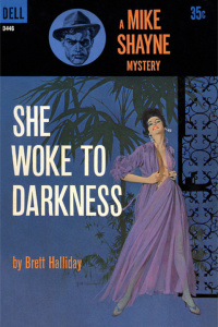 She Woke to Darkness - Brett Halliday